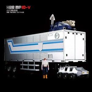 Image 3 - Robot transformable G1 de 18cm modelo kbb mp10 KO, OP MP10V juguete de aleación de Metal, Comandante, Colección fundida, figura de acción para regalo
