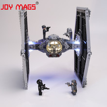 цена на JOY MAGS Only Led Light Kit For 75211 Star war Imperial TIE Fighter Lighting Set Compatible With 10900 8100 (NOT Include Model)