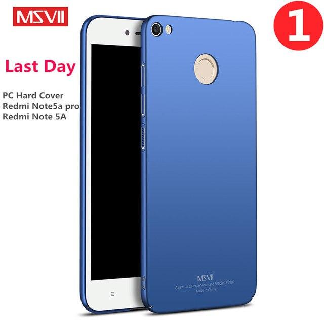 msvii brand for xiaomi redmi note 5a pro case plastic