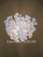 Modern Living Room Decorative Interior Design Mouth Bown Glass Chain Ceiling Light