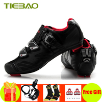 Tiebao road cycling shoes sapatilha ciclismo chaussure cyclisme route 자전거 타기 신발 self-locking breathable superstar