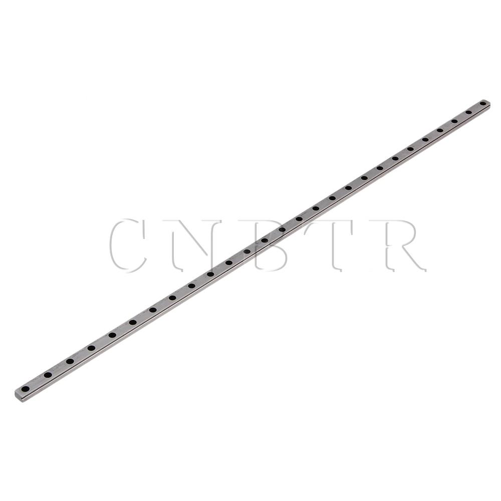 CNBTR 40cm Length MGN7 Bearing Steel Linear Sliding Guide Slide Rails Silver cnbtr 30cm length mgn7 bearing steel linear sliding guide slide rails silver