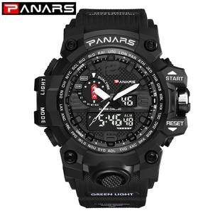 PANARS Watch Men Sport Digital
