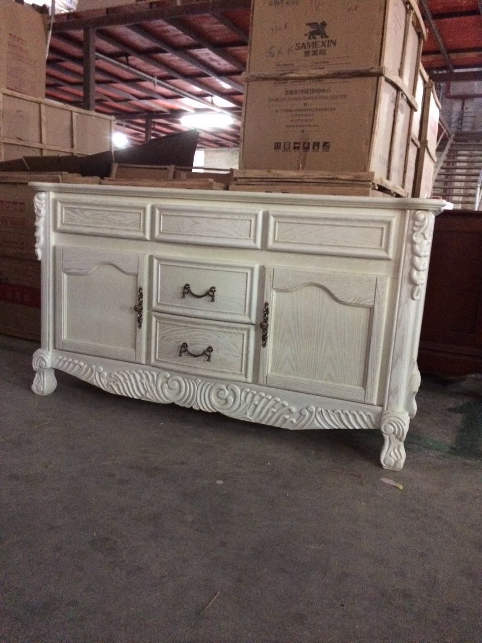 real pocture in the warehouse for big size customz. - Online Get Cheap Antique Oak Vanity -Aliexpress.com Alibaba Group