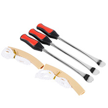 Car Styling 3 Tire Lever Tool Spoon + 2 Wheel Rim Protectors Tool Kit for Motorcycle Bike Tire Changing Removing