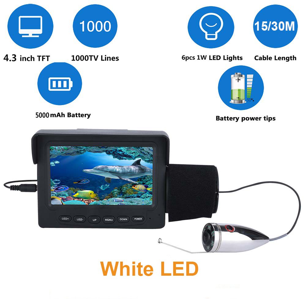 Video Surveillance Beautiful 9 Inch Tft 1000tvl Underwater Fishing Video Camera Kit 12 Pcs Led Infrared Lamp Lights Video Fish Finder 10m 15m 20m 30m 50m