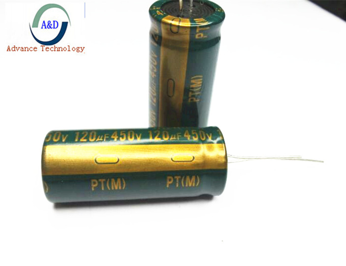 2pcs Lot 450v 120uf High Frequency Low Impedance 18 40 20