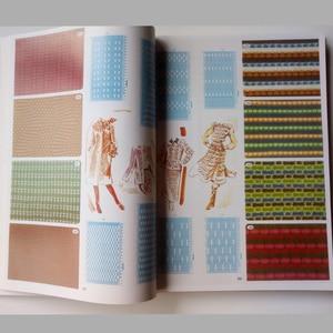 Брат вязальная машина DIY свитер объем Punchcard шаблон Книга 319 страниц