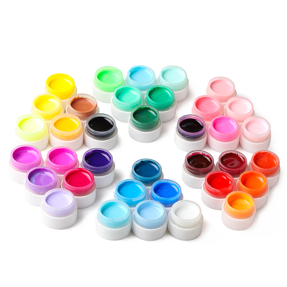 36pcs Color Gel Polish UV Gel Lacquer Nail Art Painting Gels UV Gel Nail Polish