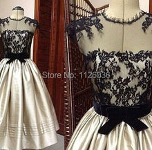 2017 kleid Neue Mode Durchsichtig Neck Lace Top Eine line abendkleid tee länge abendkleid weddings & events kleid