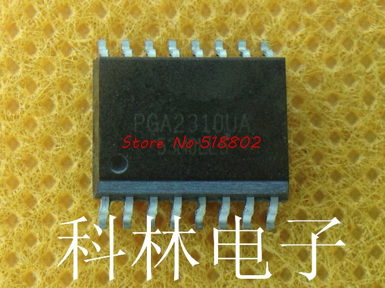 1pcs/lot PGA2310UA PGA2310 STEREO AUDIO VOL CTRL SOP16 IC1pcs/lot PGA2310UA PGA2310 STEREO AUDIO VOL CTRL SOP16 IC