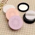 3 unids vacío frasco de polvo suelto con tamiz Tornillo espejo polvo tapa plástica Cosmética Caja estuche De Maquillaje compacto de Viaje subpaquete