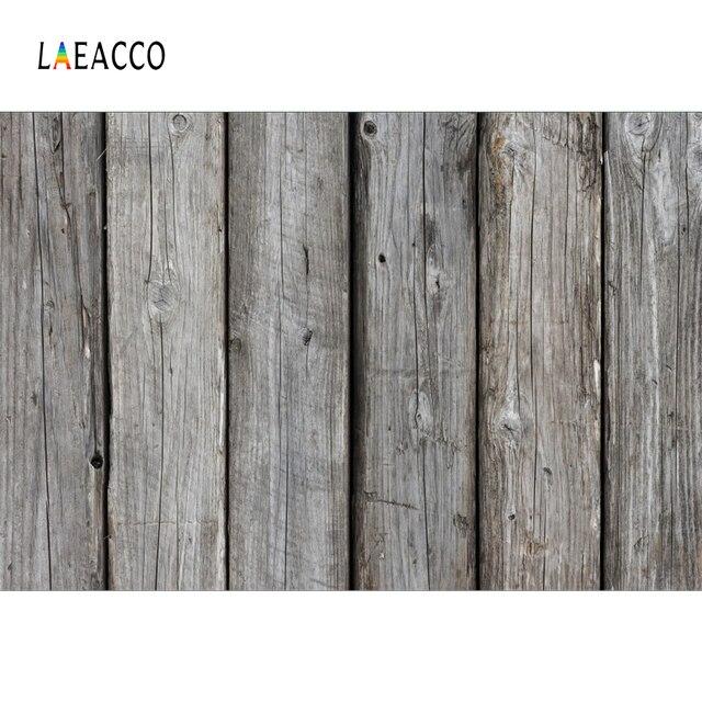 Laeacco Wood Backgrounds Planks Board Dark Texture Birthday Cake Smash Baby Pet Portrait Photo Backdrops Photocall Photo Studio