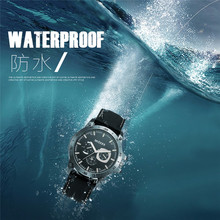 Luxury Brand Waterproof Military Sport Watches Men Silver Steel Digital Quartz