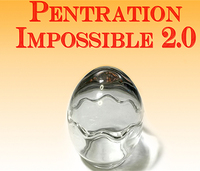 2017 New Penetration Impossible 2 0 By Higpon Gimmick Online Instructions Magic Trick Street Illusion Close