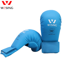 WESING KARATE GLOVES APPROVED WKF  MITTS BOXING