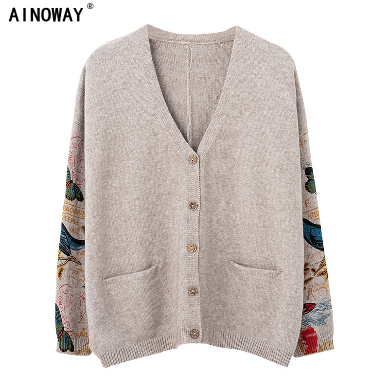 ccf82831fe Buy women retro cardigan and get free shipping on AliExpress.com