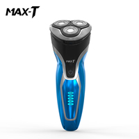 New MAX T RMS7109 Electric Shaver Washable Rechargeable USB Charge Triple Blade for Men Face Care Electric Shaving Beard Machine