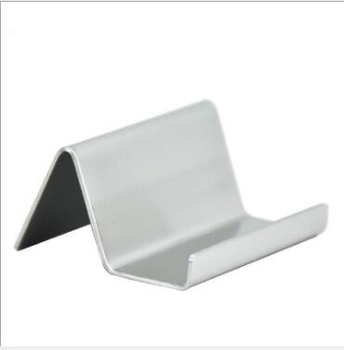 10pcs Stainless Steel Business Card Holder Name Card Stand Note Display Stand Modern Desktop Organizer lin4391