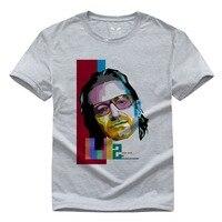 U2 Bono DIY Rock And Roll Music Pure Cotton Round Collar Men S Short Sleeve T