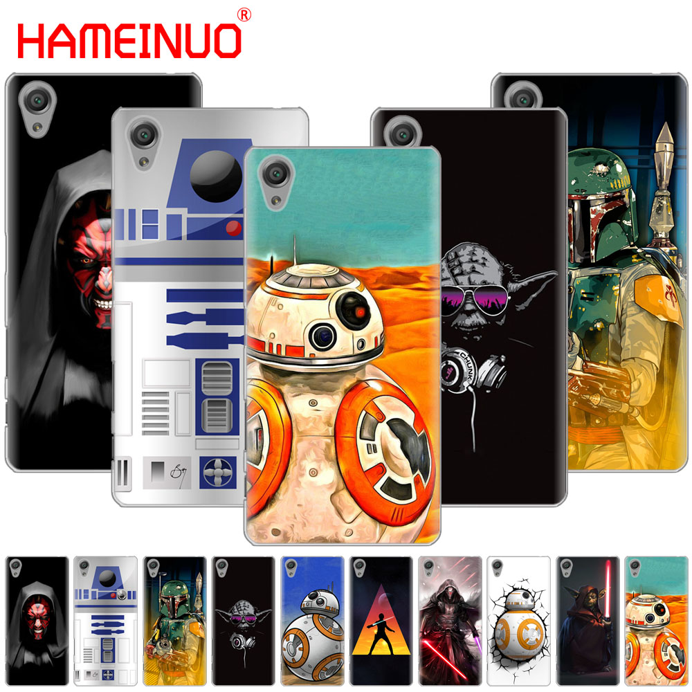 HAMEINUO Lightsaber Star Wars Cover phone Case for sony xperia z2 z3 z4 z5 mini plus aqua M4 M5 E4 E5 C4 C5