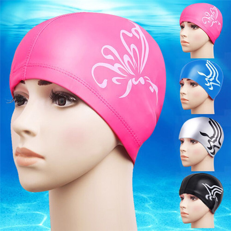 snowshine#4501 Riding Bike Bicycle Cap Swimming Cap Protect Ears Hair Sports Hat For Men Women Adults