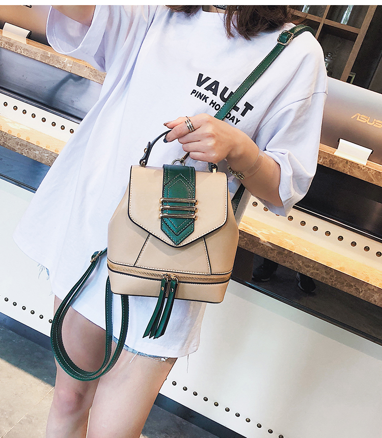 2019 marca de luxo projetado casual couro com zíper sac LW-19