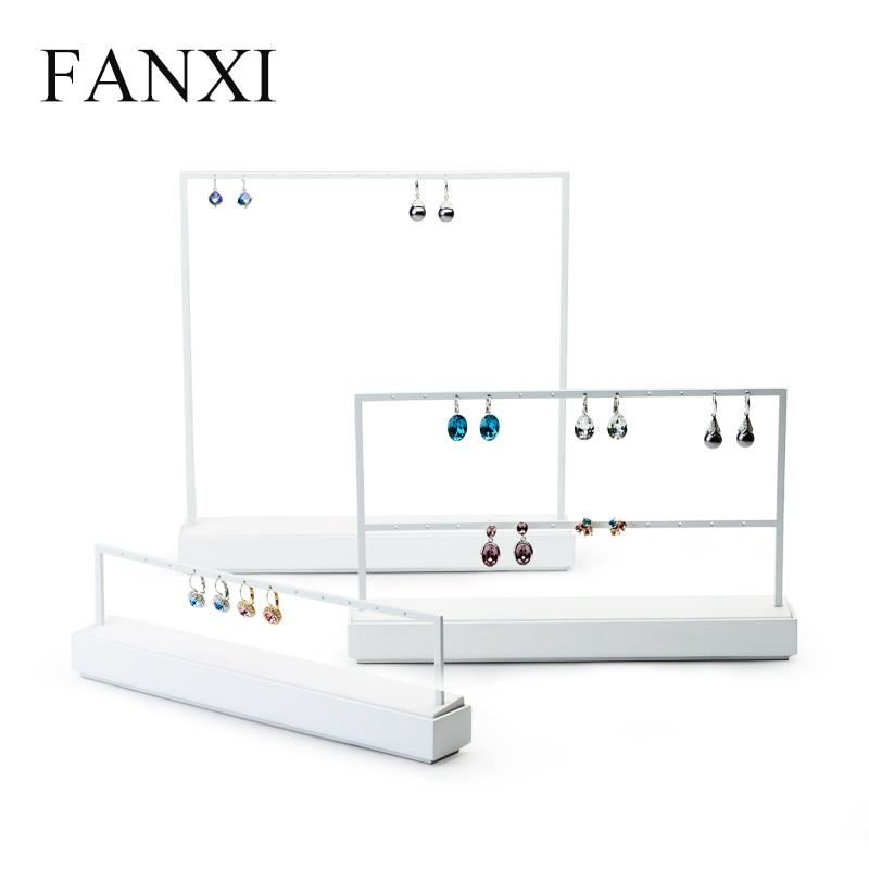 Pendant, White, Earrings, Showcase, Organizer, Holder