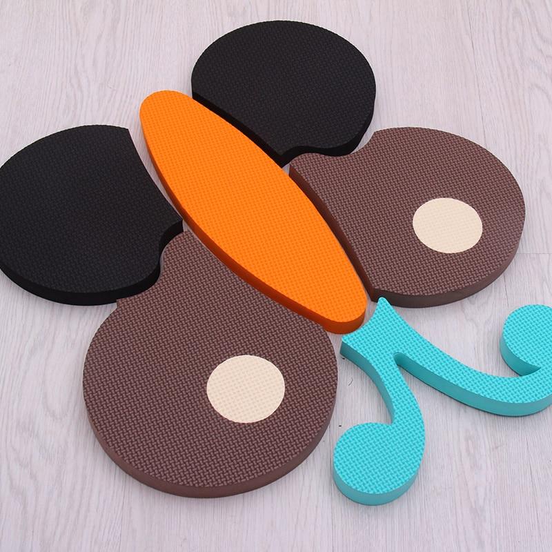 4 pièces/lot meiqicool bébé EVA mousse jouer Puzzle tapis pour enfants/exercice de verrouillage carreaux tapis de sol tapis, chaque 60x60cm d'épaisseur 20mm - 4