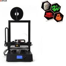 Ortur-4 Новый 3d принтер большой размер печати FDM i3 принтер промышленный линейный направляющий Магнитный/съемный углеродистая сталь Hotbed 1,75 мм PLA