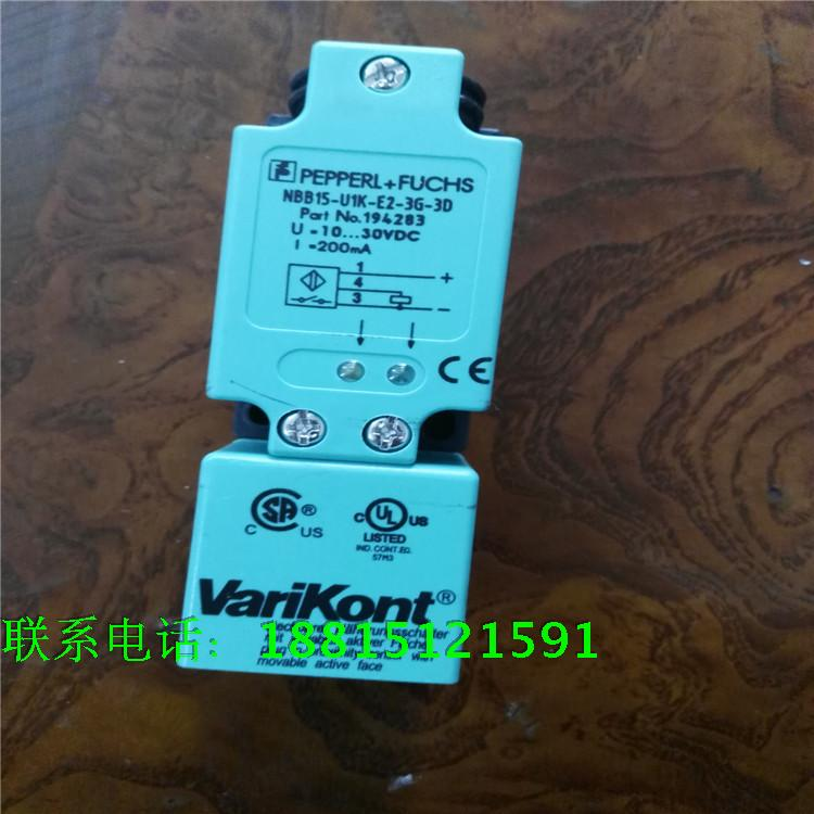 P+F Inductive Proximity Switches Sensors NBB15-UIK-E2-3G-3D PNP NO New High-Quality Warranty For One Year proximity switch ime12 04bpozc0s pnp nc m12 sick 100% brand new high quality warranty for one year