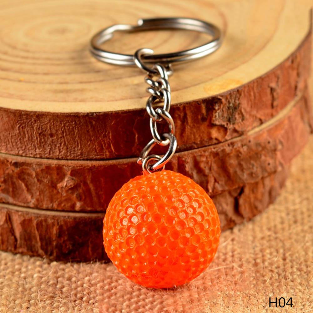 high quality Golf soccer basketball football keychain keychain key ring