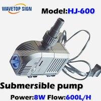 Submersible pump HJ-600 8W/ tank pump / aquarium mini miniature pumps / circulation filter pump / filter ultra-quiet