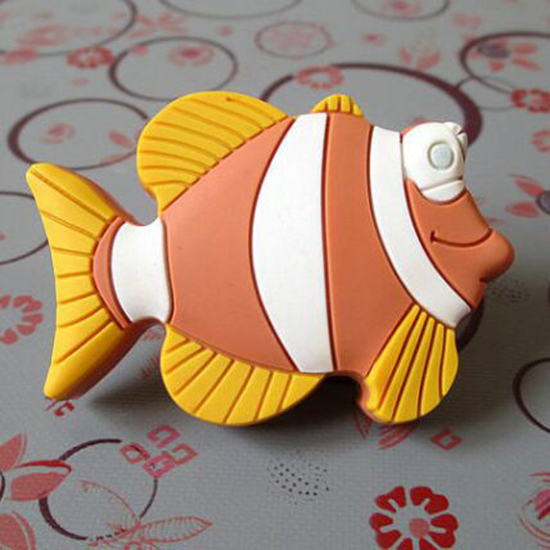Kids Dresser Knobs Pulls Childrens Drawer Knob Handles Fish Knobs Nautical Furniture Knobs Pull Handle Hardware