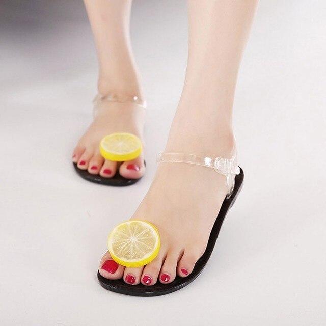Chaussures - Sandales De Gelée De Citron h4XNXjCBl