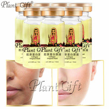 Plant Gift Collagen Original Fluid Increases Skin's Elasticity And Shine, Making Skin Firmer 10ml*7pcs moistfull collagen