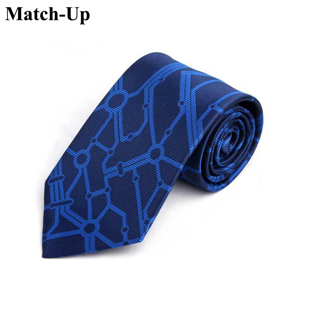 Provided 2016 New Railway Men Personality Pattern Tie Skeleton Cranial Head Pattern Tie 10 Apparel Accessories
