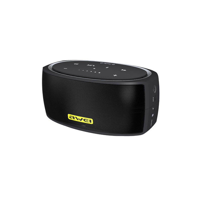 AWEI Y210 Mini Speaker Portable Bluetooth Speaker NFC Computer Speaker with TF AUX usb Sound Bar for Mobile Phone in Portable Speakers from Consumer Electronics