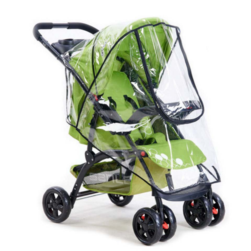High Quality Universal baby stroller Rain Cover Dust Wind Shield Stroller Accessories Pushchairs Buggys Waterproof Rain