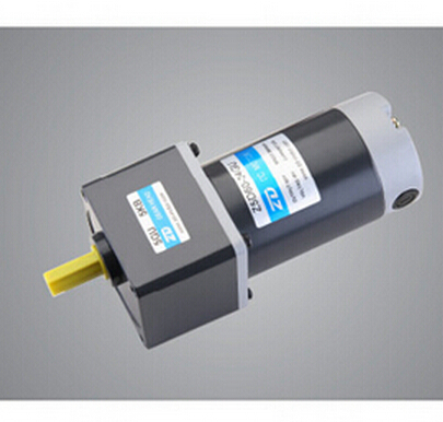цена на 60W 24V 80mm mirco DC gear motor DC motor DC brush gear motors Gear Ratio 30:1 IE2 output shaft 10mm output shaft is 60rpm