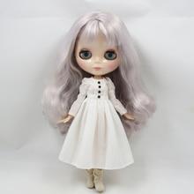 Neo Blythe Doll Simple White Dress