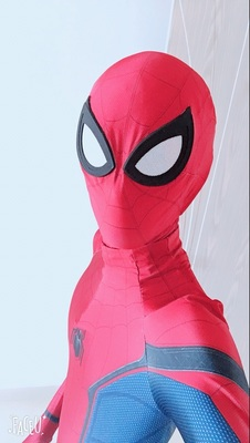 2018 Newst True beat spider man return to 3D printing and dyeing even Spiderman conjoined tight fitting Homecoming Spider-Man