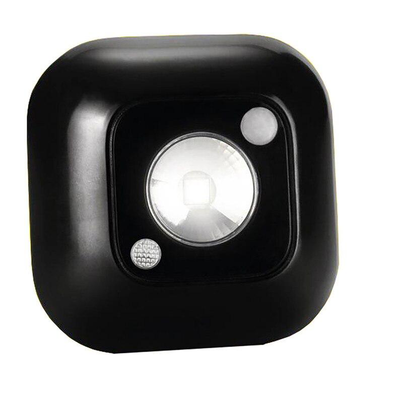 LED Mini Wireless Infrared Motion Sensor Night Light Intelligent Human Body Motion Induction Lamp