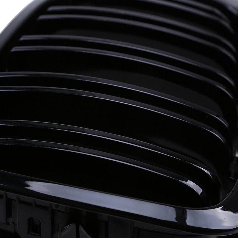 Remplacer les accessoires de calandre pour le couvercle de latte noir brillant de Coupe 98-01 BMW E46 2D - 6