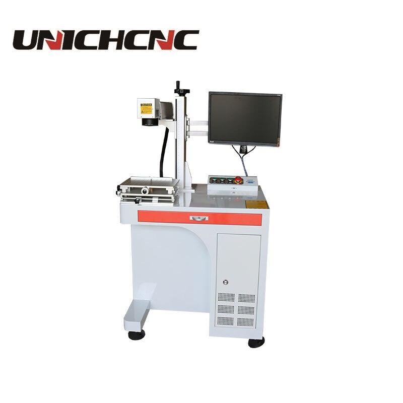 Raycus/IPG/MOPA laser à fiber machine de marquage haute vitesse