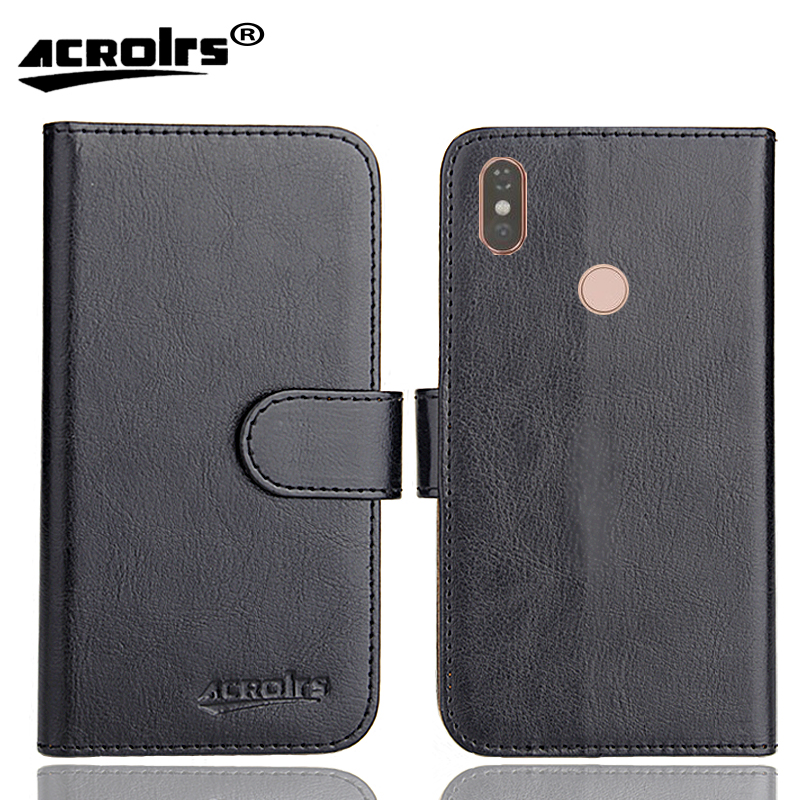 DEXP B260 Case 6 Colors Dedicated Soft Flip Leather Special Crazy Horse Phone Cover Cases Credit Card Wallet in Flip Cases from Cellphones Telecommunications