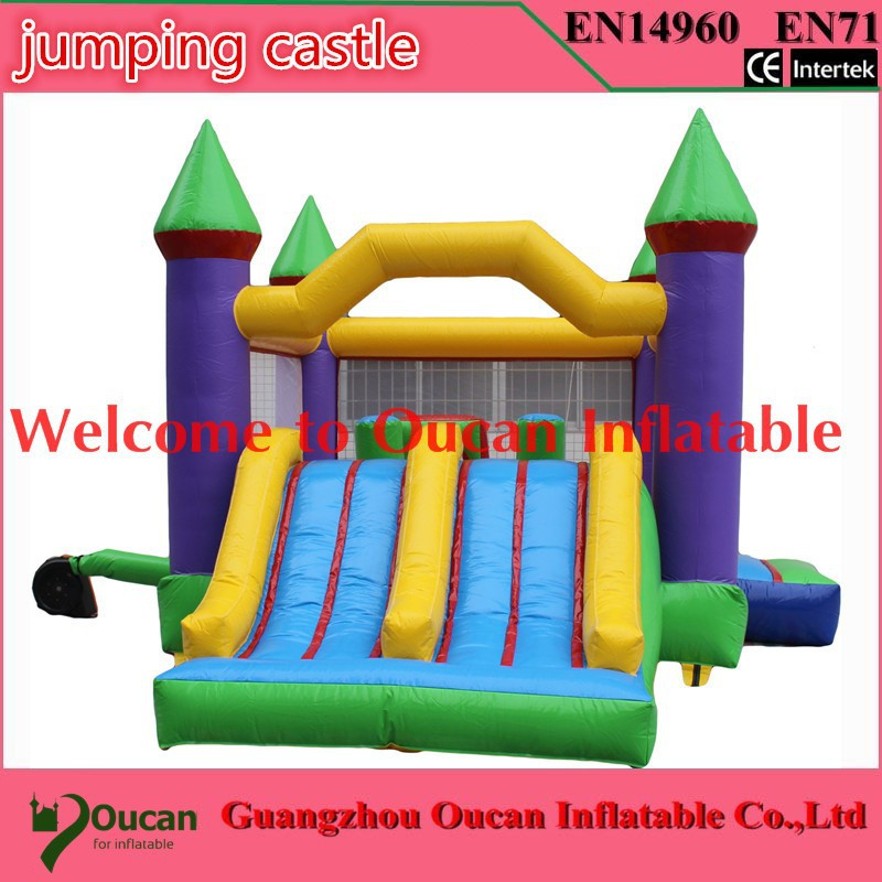 HOT Free shipping inflatable bouncer, inflatable air jumping house, inflatable air moonwalk bouncer, party rental bouncy house 2015 blue yellow inflatable jumping house free shipping