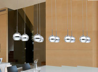 Modern LED Chandelier Lights Acrylic Lampshade 10 LED Suspension Light Lamp For Dinning Room New Novelty