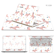 Laptop Stickers with Same Style Mouse Pad Skin for Lenovo ideapad 320s/320/MIIX 700/120s/S205/V450/k20 80/Air 13/AIR 13 PRO/G70(China)