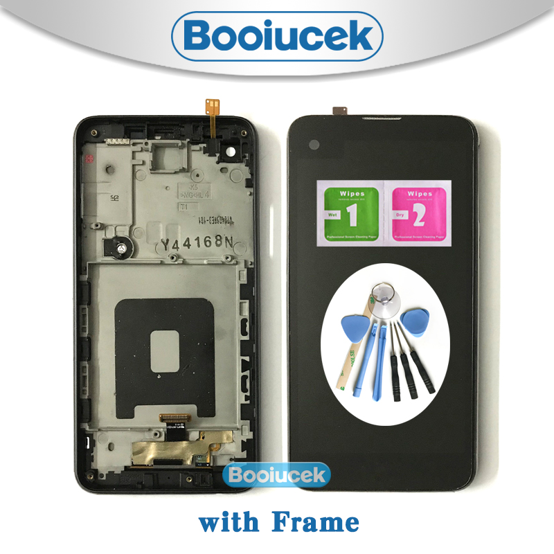 High Quality 4.9 For LG X Screen K500 K500H K500F K500N LCD Display Screen With Touch Screen Digitizer Assembly + ToolHigh Quality 4.9 For LG X Screen K500 K500H K500F K500N LCD Display Screen With Touch Screen Digitizer Assembly + Tool